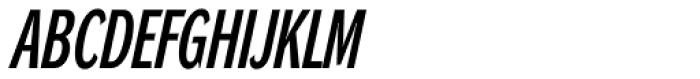 DynaGrotesk LXC Bold Italic Font UPPERCASE