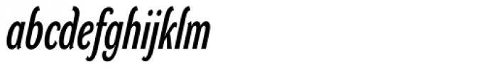 DynaGrotesk LXC Bold Italic Font LOWERCASE