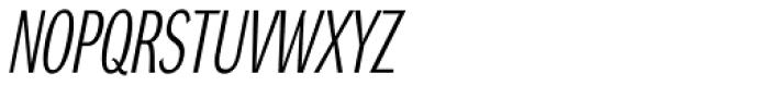 DynaGrotesk Pro 11 Italic Font UPPERCASE