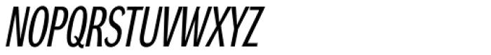 DynaGrotesk Pro 12 Italic Font UPPERCASE