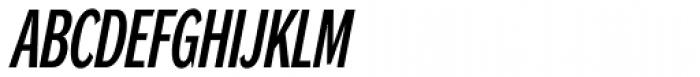 DynaGrotesk Pro 13 Italic Font UPPERCASE