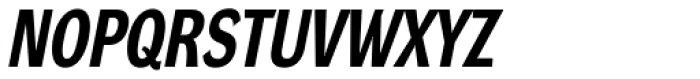 DynaGrotesk Pro 22 Bold Italic Font UPPERCASE