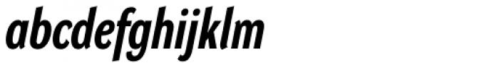 DynaGrotesk Pro 22 Bold Italic Font LOWERCASE
