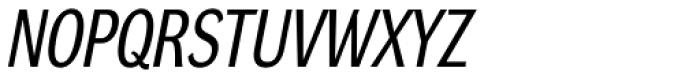 DynaGrotesk Pro 22 Italic Font UPPERCASE