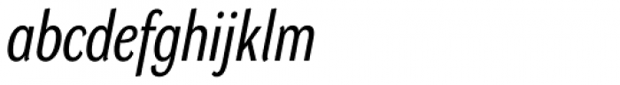 DynaGrotesk Pro 22 Italic Font LOWERCASE