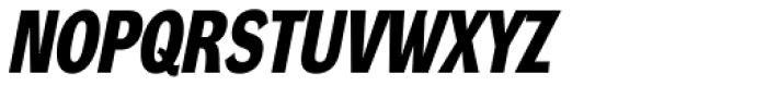 DynaGrotesk Pro 23 Bold Italic Font UPPERCASE