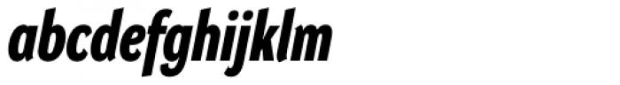DynaGrotesk Pro 23 Bold Italic Font LOWERCASE