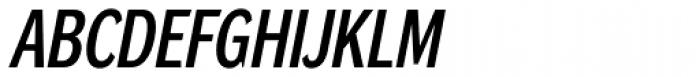 DynaGrotesk Pro 23 Italic Font UPPERCASE