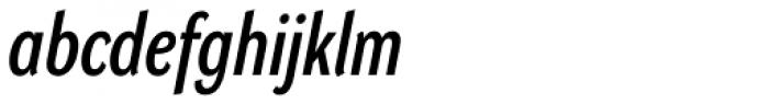 DynaGrotesk Pro 23 Italic Font LOWERCASE