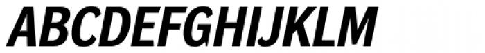 DynaGrotesk Pro 32 Bold Italic Font UPPERCASE