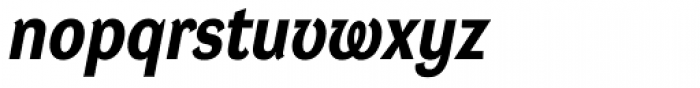 DynaGrotesk Pro 32 Bold Italic Font LOWERCASE