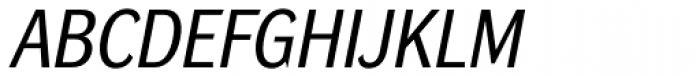 DynaGrotesk Pro 32 Italic Font UPPERCASE