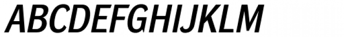 DynaGrotesk Pro 33 Italic Font UPPERCASE