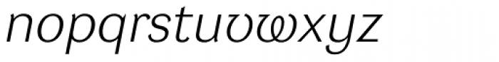DynaGrotesk Pro 41 Italic Font LOWERCASE