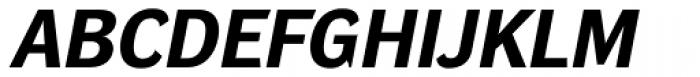 DynaGrotesk Pro 42 Bold Italic Font UPPERCASE