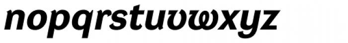 DynaGrotesk Pro 42 Bold Italic Font LOWERCASE