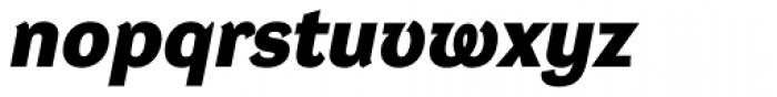 DynaGrotesk Pro 43 Bold Italic Font LOWERCASE