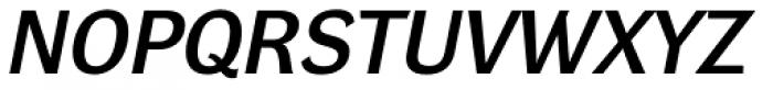 DynaGrotesk Pro 43 Italic Font UPPERCASE