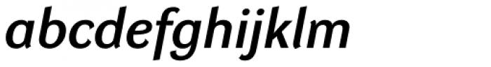 DynaGrotesk Pro 43 Italic Font LOWERCASE
