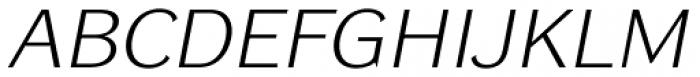 DynaGrotesk Pro 51 Italic Font UPPERCASE