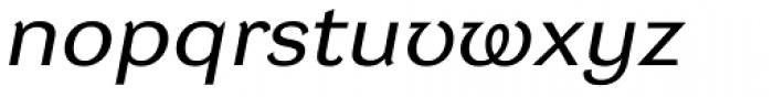 DynaGrotesk Pro 52 Italic Font LOWERCASE