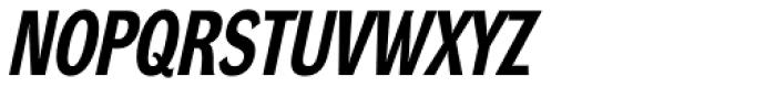 DynaGrotesk RC Bold Italic Font UPPERCASE