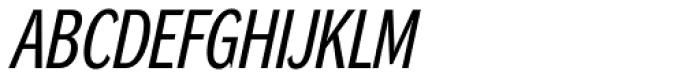 DynaGrotesk RC Italic Font UPPERCASE