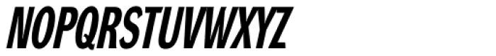 DynaGrotesk RXC Bold Italic Font UPPERCASE