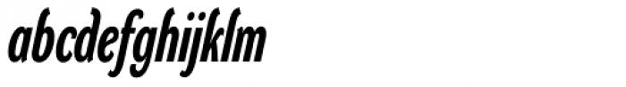DynaGrotesk RXC Bold Italic Font LOWERCASE