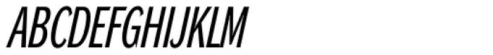 DynaGrotesk RXC Italic Font UPPERCASE