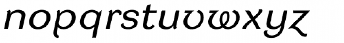 DynaGrotesk RXE Italic Font LOWERCASE