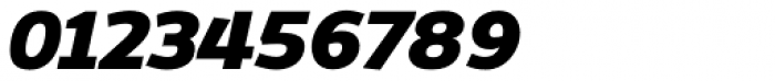 Dynasty Heavy Italic Font OTHER CHARS