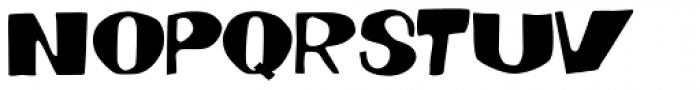Dynatomic Font UPPERCASE