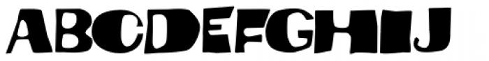 Dynatomic Font LOWERCASE