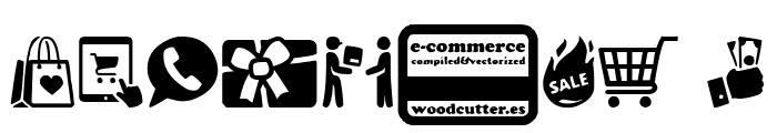 E-commerce Font OTHER CHARS