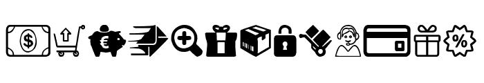 E-commerce Font LOWERCASE