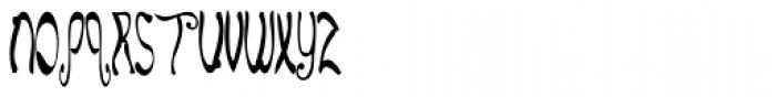 E-Lie Font UPPERCASE