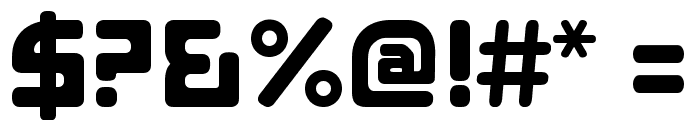 E4 ASCII Regular Font OTHER CHARS