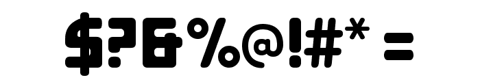 E4 Digital Condensed Font OTHER CHARS