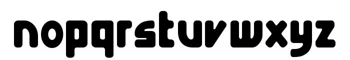 E4 Digital Condensed Font LOWERCASE