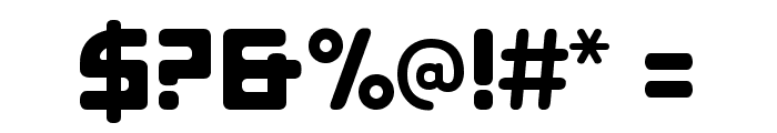 E4 Digital [Lowercases] Font OTHER CHARS