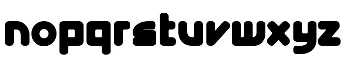 E4 Digital V2 Extra Bold Font LOWERCASE