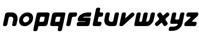 E4 Digital V2 Italic Font LOWERCASE