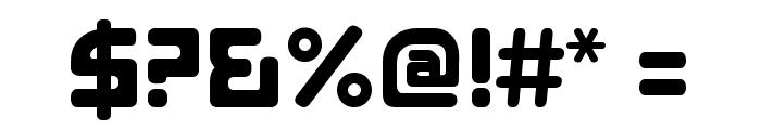 E4 Digital V2 Regular Font OTHER CHARS