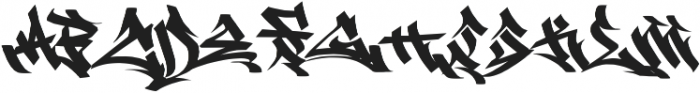 EAST COAST otf (400) Font UPPERCASE