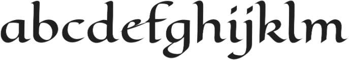 Eagle Lake Pro Regular otf (400) Font LOWERCASE