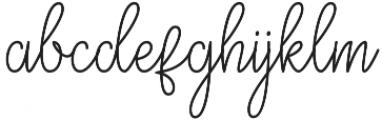 Eagle1 otf (400) Font LOWERCASE