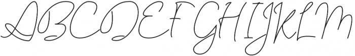 Eastpine otf (400) Font UPPERCASE