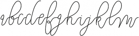 Eastpine otf (400) Font LOWERCASE