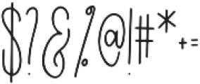 Easy Breezy Serif otf (400) Font OTHER CHARS